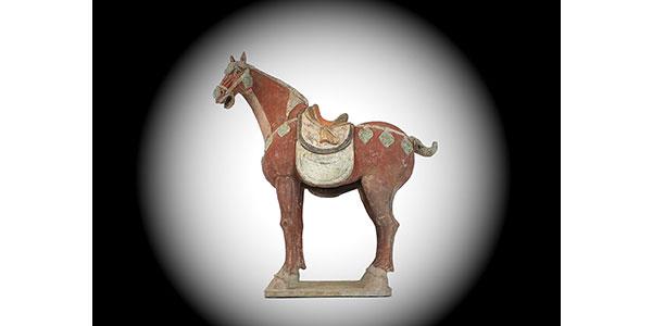 Special Large Caparisoned Horse