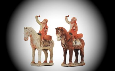 Sui Dynasty Mounted Warriors