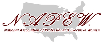 Woman Owned - logo for National Association of Professional & Executive Women