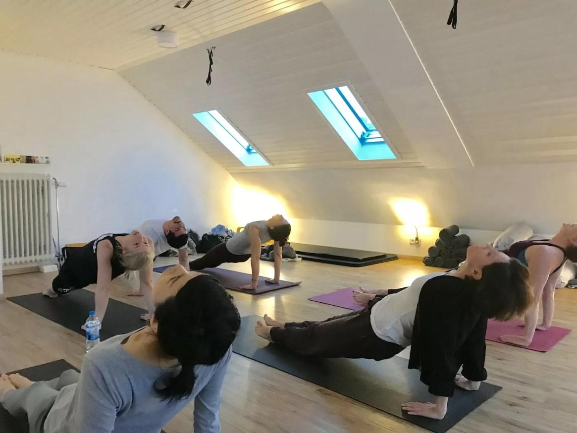 DANCE Yoga Heidelberg, Fire