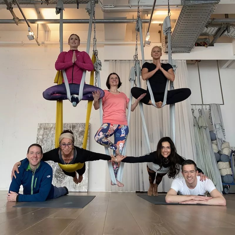 Aerial Yoga Teacher Training Inside Yoga Frankfurt 2020