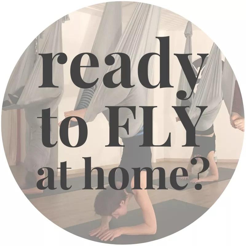 Aerial Yoga at home