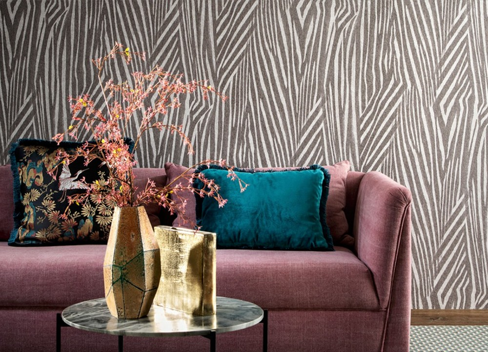 Wallcoverings for the ultimate in refinement