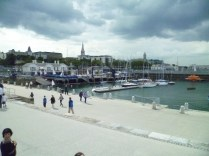 Field Trip to Dun Laoghaire, a place Beckett loved.