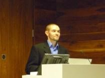 Nicholas Johnson lecture at the Trinity Long Room Hub