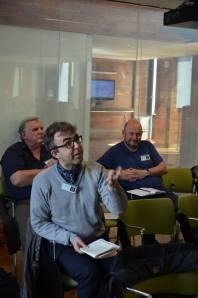 David Wheatley asks a question