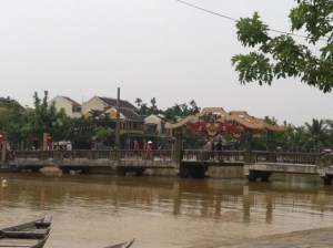 Hoi An city by the River in Vietnam