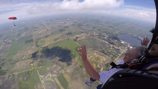 Susan's skydive 0170