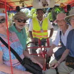 Fun in the Pedicab