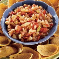 Fresh Pear Salsa