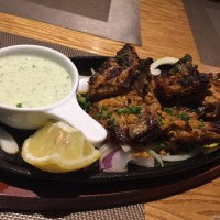Lamb Chops With Mint Chutney