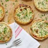 Individual Goat Cheese Cheesecakes