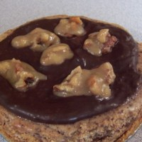 Blue Owl Restaurant and Bakery Turtle Pecan Cheesecake