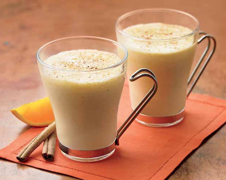 Holiday Orange-Eggnog Punch