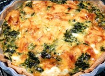 Simple Spinach Quiche