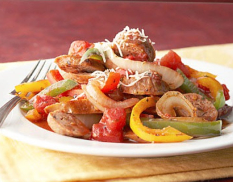 Sausage and Pepper Medley