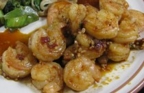 Spicy Chinese Shrimp