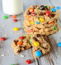 No-Flour Monster Cookies