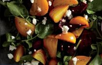 Beet Salad on Greens