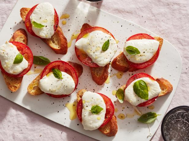 Baked Caprese Salad