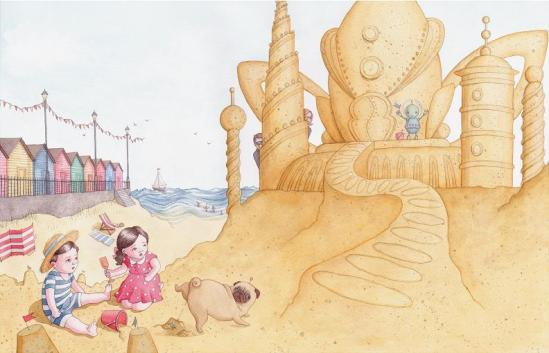 The Giant Sandcastle