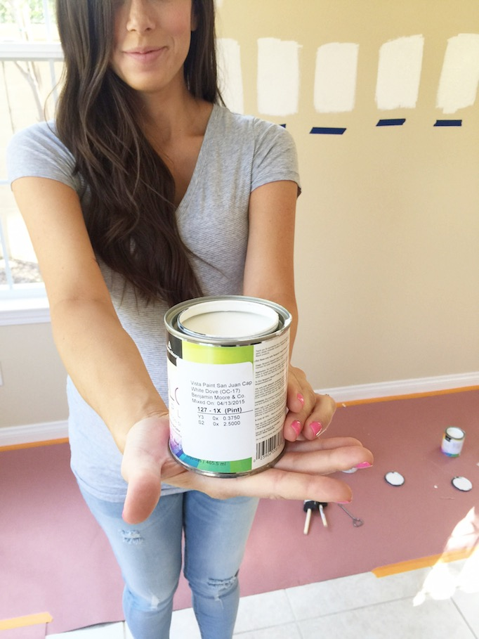 1b71a026677 Picking Paint with Mint Arrow - Becki Owens