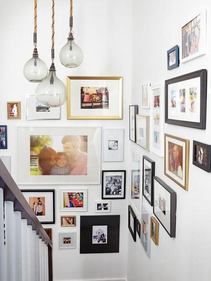 Las mejores ideas para incorporar fotos familiares a la decoración ...