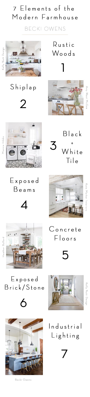 7 Elements Of A Modern Farmhouse