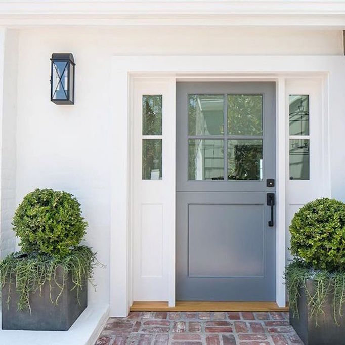 143 Best Painted Doors Images On Pinterest: 8 Pretty Ideas For Front Porch Plants