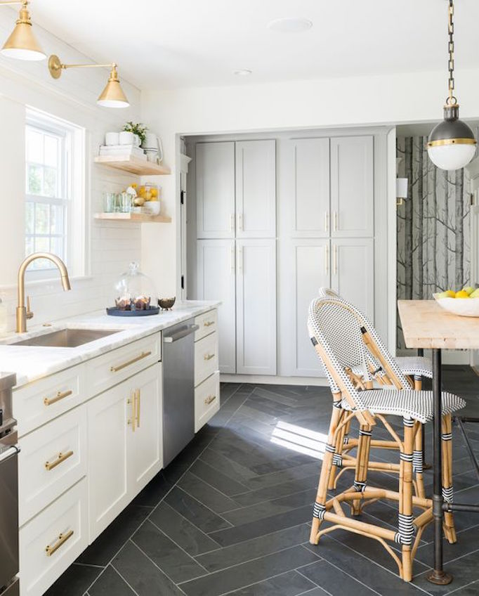 Tile & Pros and Cons: Kitchen FlooringBECKI OWENS