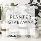 Planter Giveaway – Design Twins