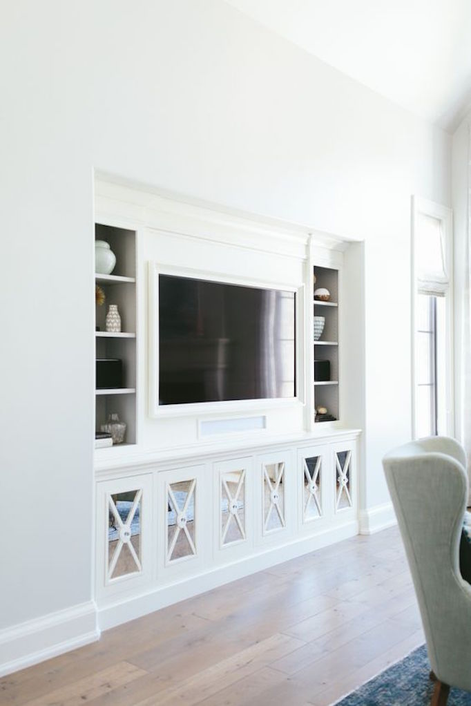 It is meant to light up drainboards and counters like you would a. 10 Ideas for Media Wall Built-ins - BECKI OWENS