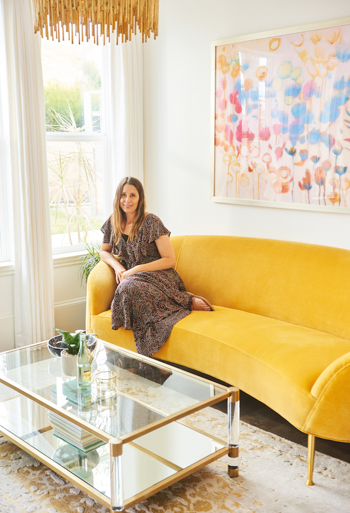 At Home With Anthropologie Custom Furniture Becki Owens