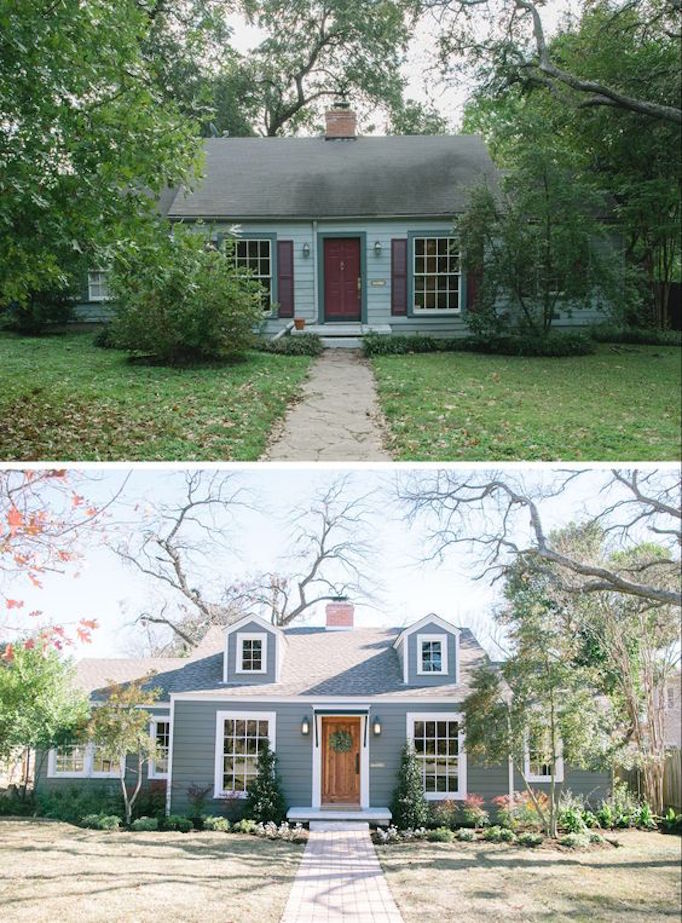 Best 10 Inspiring Before and After Exterior MakeoversBECKI OWENS QP05