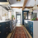 Kitchen Design Inspiration: 3 Blue Beauties