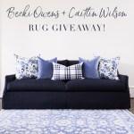 Caitlin Wilson Rug Giveaway