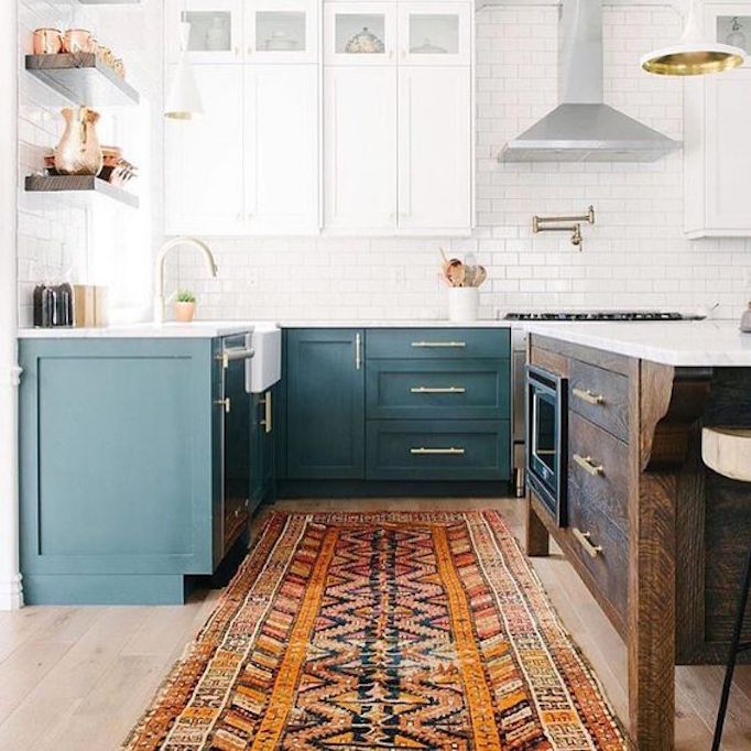 Two Tone Cabinets In Small Kitchen: Design Trend 2018: Two Toned KitchensBECKI OWENS