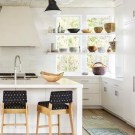 Kitchen Trend: Open Shelving in Front of Windows