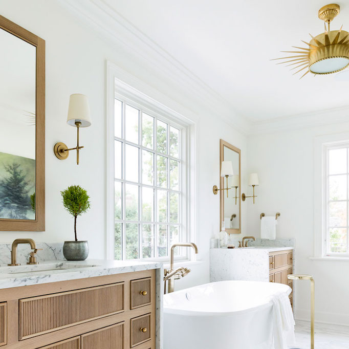 Bathroom Trend Warm Wood Vanities Becki Owens