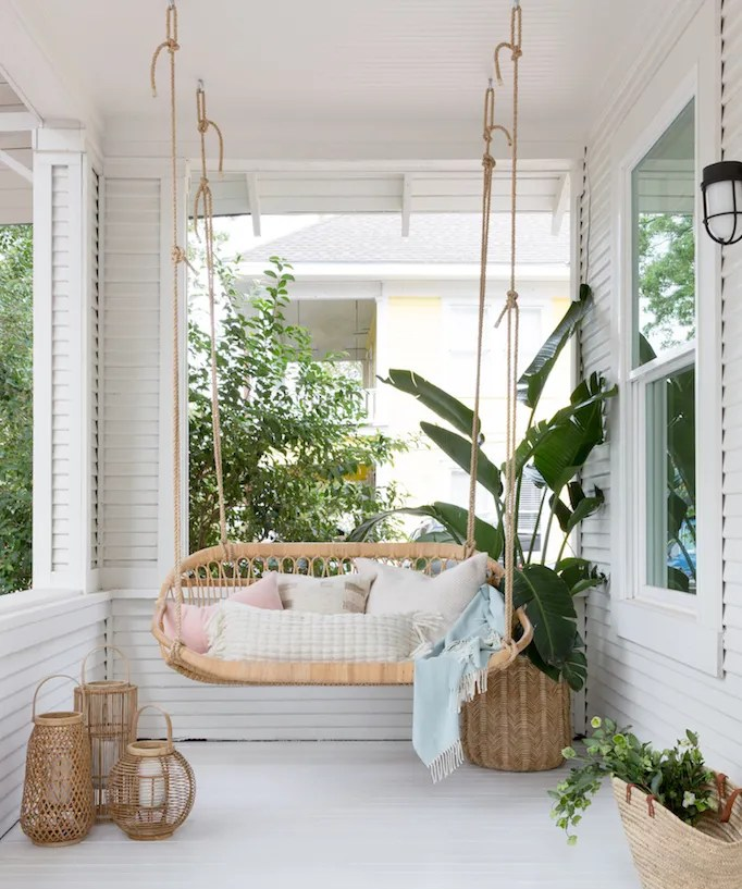 Swing Into Summer Porch Swings For Every Style Becki Owens