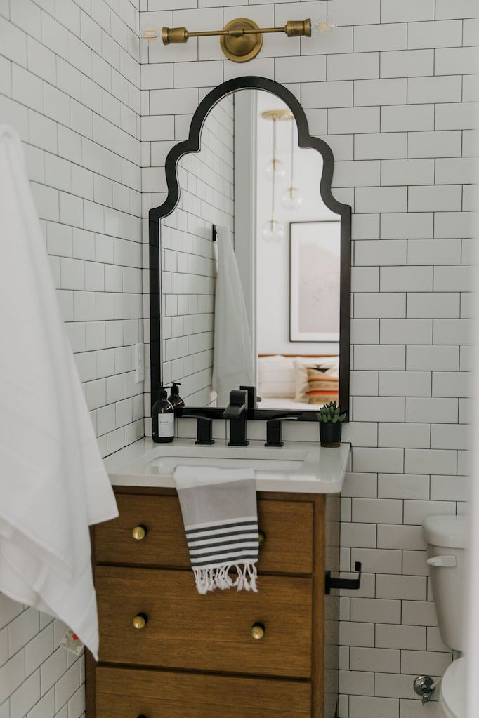 Town Center Project Spanish Modern Bathroom Becki Owens