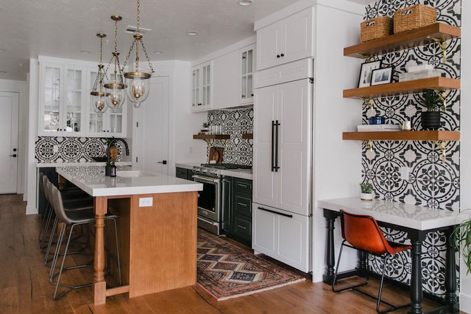 Today We Sharing The Images And Details Of My Town Center Project Kitchen!  Designed For The 2018 St. George Parade Of Homes, We Blended Elements Of  Old ...