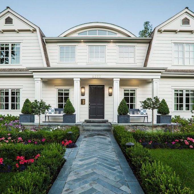 Dutch Colonial Luxury Homes: Design Crush: The Fox Group Home ExteriorsBECKI OWENS