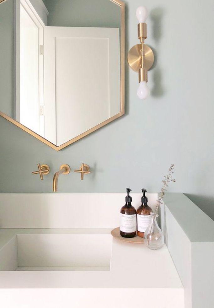 2018 Trend Sage Green BathroomsBECKI OWENS
