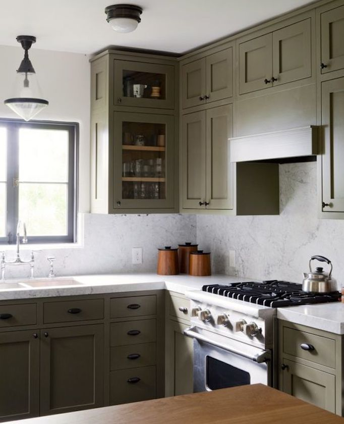 Kitchen Color Trends | Color Trends Of 2019 Shades Of Greenbecki Owens