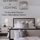 LIGHTING GIVEAWAY – Win Up to $2000 in The New Becki Owens for Hudson Valley Lighting Collection