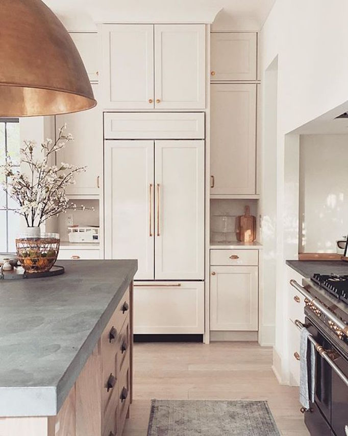 Dream Kitchen A Creamy Warm New Traditional Becki Owens