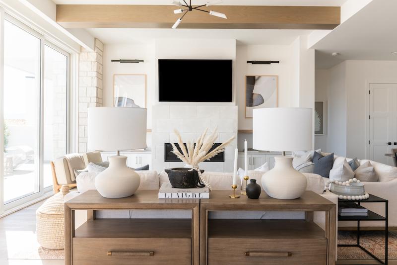Becki Owens Beach Front Living Room