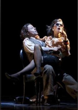Markus Werba (Papageno) and Sibylla Duffe (Papagena)  © Silvia Lelli/ Opera di Roma