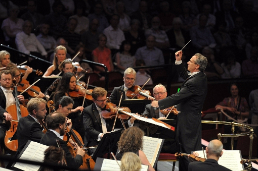 Fabio Luisi and the Danish National Symphony Orchestra © BBC | Chris Christodoulou